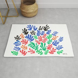 Henri Matisse, Cut Out Colored Papers 1953 Artwork for Wall Art, Prints, Posters, Tshirts, Men, Women, Kids Rug
