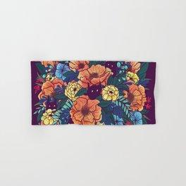 Wild Flowers Hand & Bath Towel