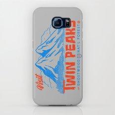Visit Twin Peaks (orange) Galaxy S6 Slim Case