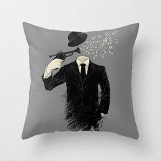 Blown Throw Pillow