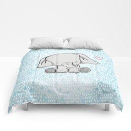 elephant tears Comforters