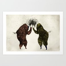 Supisupi Art Print