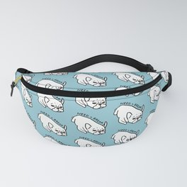 Need a break, the cute French Bulldog wants to take a nap Fanny Pack