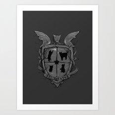 Felis Catus Art Print
