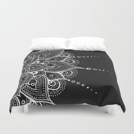 White Mandala Duvet Cover