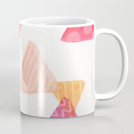 Watercolor triangles Coffee Mug