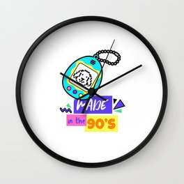 Made In The 90S - Nostalgic tamagotchi Gift Wall Clock