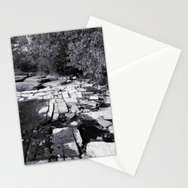 Rocky Shores - Black & White Photography Stationery Cards