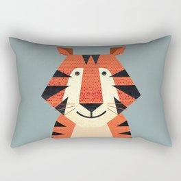 Whimsy Tiger Rectangular Pillow