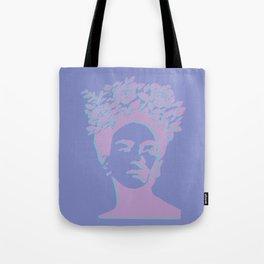 frida kahlo (purple version) Tote Bag