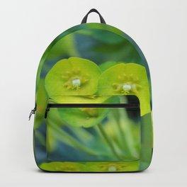 Little Green Flowers Backpack