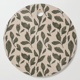 Leaf Pattern Cutting Board