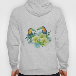 Tropical toucans Hoody