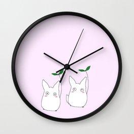 lil Totoros Wall Clock