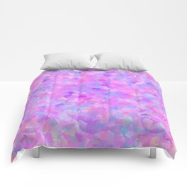 Funfetti (Preppy Abstract Pattern) Comforters