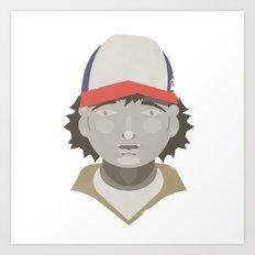 Dustin Art Print