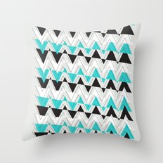 Winter Sketch Throw Pillow