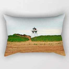 Stanhope PEI Lighthouse and Beach Rectangular Pillow