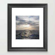 cambodian sea Framed Art Print
