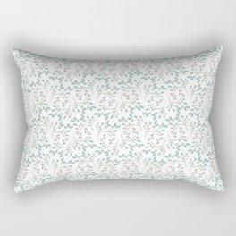 Topsy Turvy Flower Pattern Rectangular Pillow