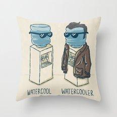 Watercool Throw Pillow