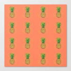 Fresh Pineapple Canvas Print