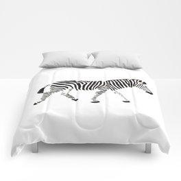 Disappearing Zebra Comforters