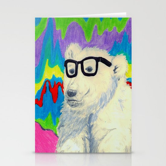 Colorful thinking Stationery Cards