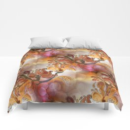 discopattern orange -1- Comforters