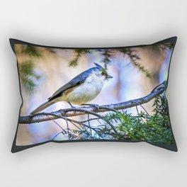 Good morning world. Rectangular Pillow