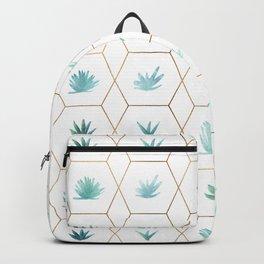 Geometric Succulents Backpack