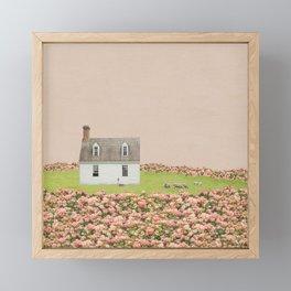 Rose Farm in Pink Framed Mini Art Print