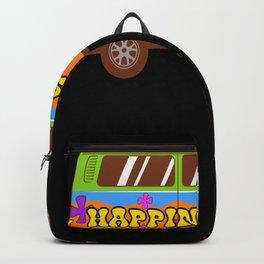 Happiness Van Enjoyment Good Vibes Backpack