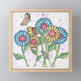 Summer of Love Framed Mini Art Print
