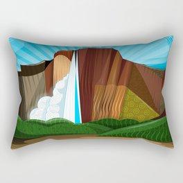 Salto Ángel - Siete Maravillas de Venezuela Rectangular Pillow