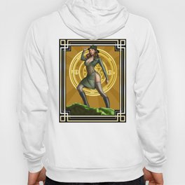 Circadian Circle 1950s World War II Woman Wizard Hoody