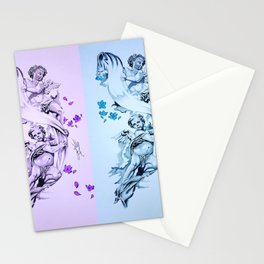 Baby Angels Stationery Cards
