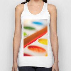 Watercolors Unisex Tank Top