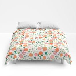 Vanilla Peaches Comforters