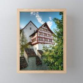 The Fortress Framed Mini Art Print