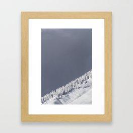 The Strom Has Past Framed Art Print