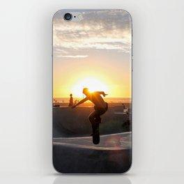 Sunset Skate iPhone Skin