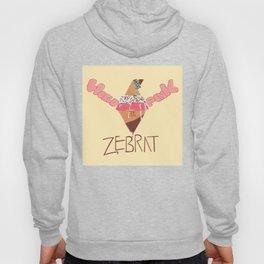 World in Pink - Zebrat Single Art Hoody