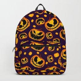 Spooky Halloween Pumpkins Backpack