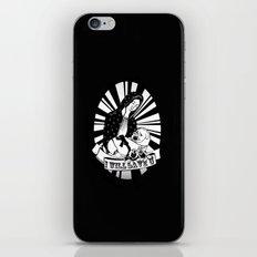 I'll Save You iPhone & iPod Skin