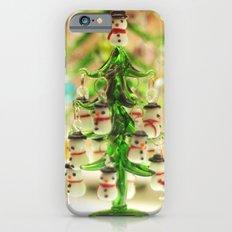 Snowmen Christmas trees Slim Case iPhone 6