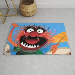 Animal Muppets' Drummer Rug