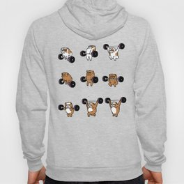 OLYMPIC LIFTING English Bulldog Hoody