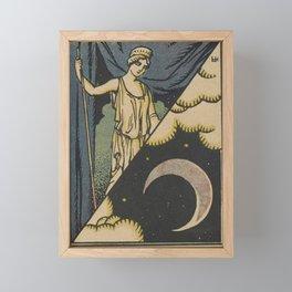 Lune Moon Framed Mini Art Print