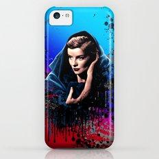 Katharine Hepburn, 60 years of drama. iPhone 5c Slim Case